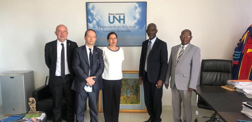 Visite d'une délégation de l'Ambassade de France en RDC